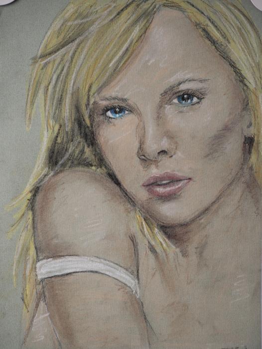 Charlize Theron por sebastien.jouve
